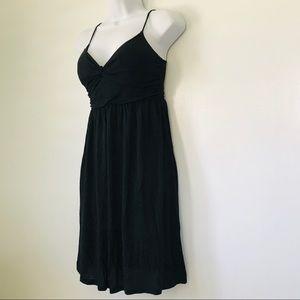 American Dream • Black Sweetheart Ruched Dress